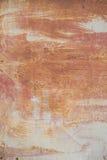 El panel aherrumbrado del metal Imagen de archivo