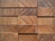 el panel 3D del afrormosia, fondo de madera Imagen de archivo
