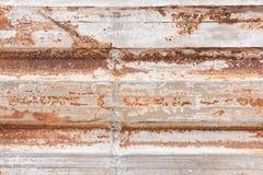 El panel de acero oxidado, textura, fondo Fotografía de archivo libre de regalías