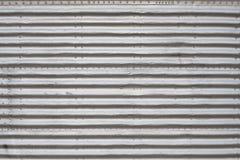 El panel de aluminio foto de archivo