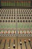 El panel de botones y de luces Fotos de archivo