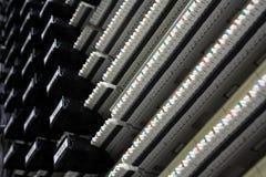 El panel de corrección de los datos Fotografía de archivo