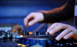El panel de DJ Imagen de archivo libre de regalías