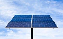 El panel de energía solar. Fotos de archivo libres de regalías