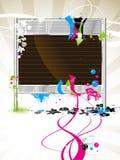 El panel de indicador en blanco, billboa Imágenes de archivo libres de regalías