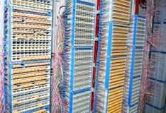 El panel de la arena del cable Imagen de archivo