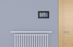 El panel de la automatización casera Foto de archivo libre de regalías