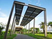 El panel de la energía solar fotos de archivo