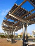 El panel de la energía solar imagen de archivo libre de regalías