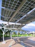 El panel de la energía solar Imagenes de archivo