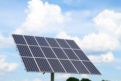 El panel de la energía solar Foto de archivo libre de regalías