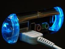 El panel de la fuente del USB imagen de archivo libre de regalías