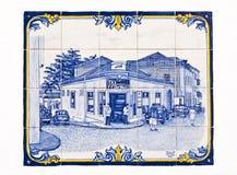 El panel de las tejas Imagen de archivo