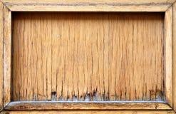 El panel de madera Fotografía de archivo libre de regalías