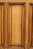 El panel de madera Imágenes de archivo libres de regalías