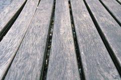 El panel de madera gris Fotografía de archivo
