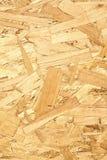 El panel de madera hecho de virutas de madera presionadas vertical Fotos de archivo libres de regalías