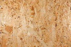 El panel de madera presionado Fotografía de archivo