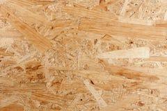 El panel de madera presionado Foto de archivo