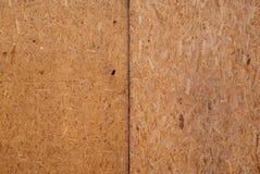 El panel de madera presionado Fotos de archivo