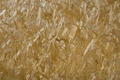 El panel de madera presionado - OSB Fotografía de archivo libre de regalías