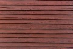 El panel de madera rojo del tablero Foto de archivo libre de regalías