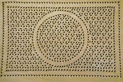 El panel de madera tallado Fotos de archivo libres de regalías