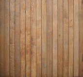 El panel de madera texturiza color marrón Fotografía de archivo