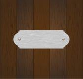 El panel de madera viejo Fotografía de archivo libre de regalías