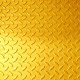 El panel de oro Foto de archivo libre de regalías