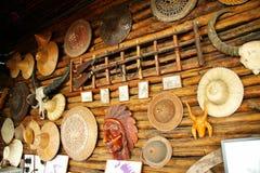 El panel de pared adornado con las materias viejas Imagen de archivo libre de regalías