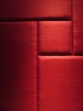 El panel de pared rojo de la tela Foto de archivo libre de regalías