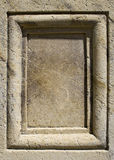 El panel de piedra imágenes de archivo libres de regalías