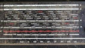 El panel de radio viejo metrajes