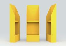 el panel del ala del alambre de la góndola de la visualización de los estantes 3D Foto de archivo
