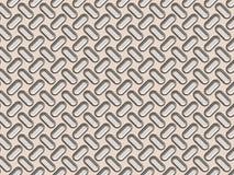 El panel del metal con los topetones texturizados Fotos de archivo libres de regalías