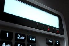 El panel del sistema de seguridad Imagen de archivo libre de regalías