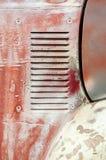 El panel del vehículo de la pátina fotografía de archivo libre de regalías