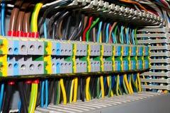 El panel eléctrico Fotografía de archivo