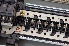 El panel eléctrico Imágenes de archivo libres de regalías