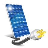 El panel fotovoltaico Fotografía de archivo