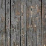 El panel plano de madera viejo del tablón Foto de archivo