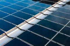 El panel solar foto de archivo