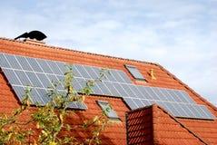 El panel solar Fotografía de archivo libre de regalías