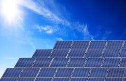 El panel solar foto de archivo libre de regalías