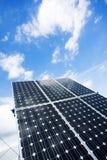 El panel solar imágenes de archivo libres de regalías