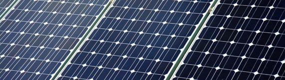 El panel solar Imagen de archivo