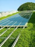 El panel solar.