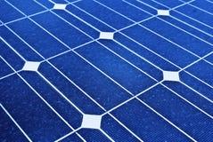 El panel solar. Ahorros fotovoltaicos, reanudables Imagen de archivo libre de regalías