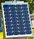 El panel solar aislado en el fondo blanco Fotografía de archivo libre de regalías